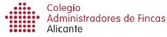 Colegiado Administración de Fincas Alicante