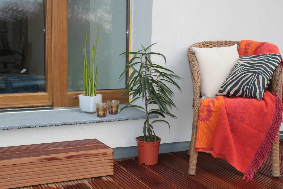 ¿Qué elementos se pueden tener en una terraza?